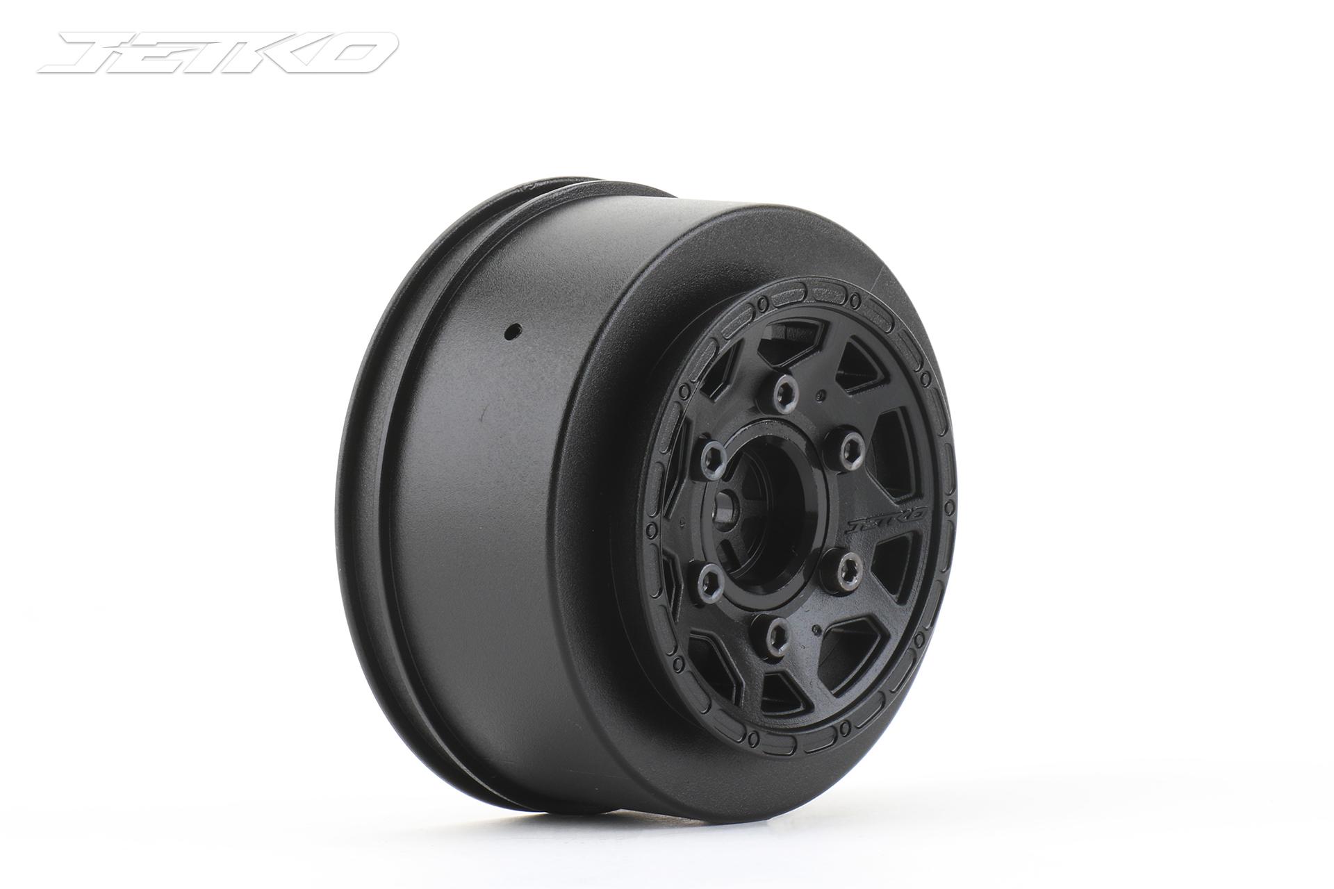 EX 1/10 SC Wheel (Black)
