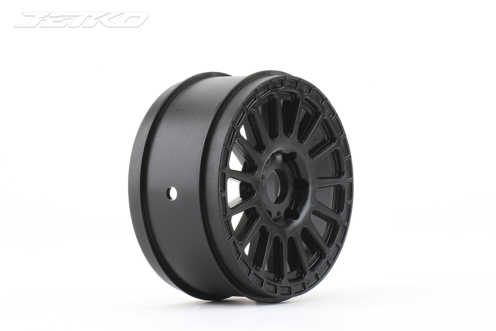 1/8 Buggy Radial Wheel (Black)